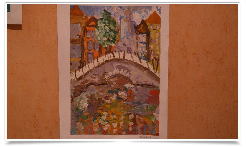В Славянске открылась благотворительная выставка детского рисунка (фотофакт) (фото) - фото 4