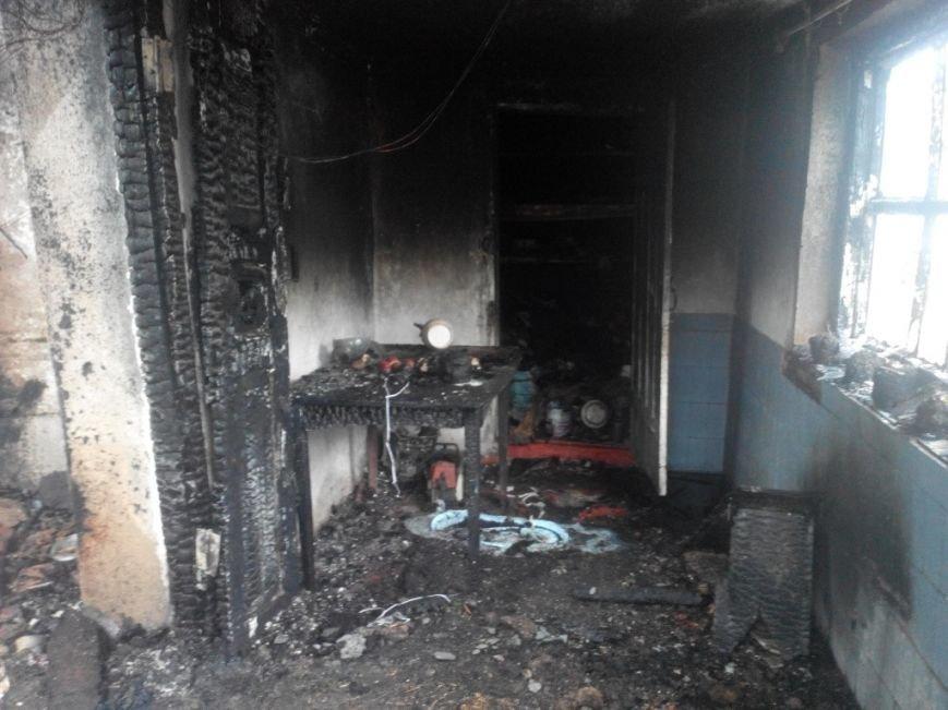 В Запорожской области пожар унес жизни двух взрослых и младенца (ФОТО) (фото) - фото 1