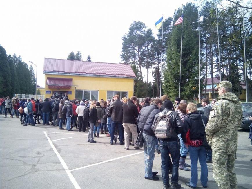 Порошенко відкрив військові навчання «Фіарлес Гардіан – 2015» (ФОТО), фото-1