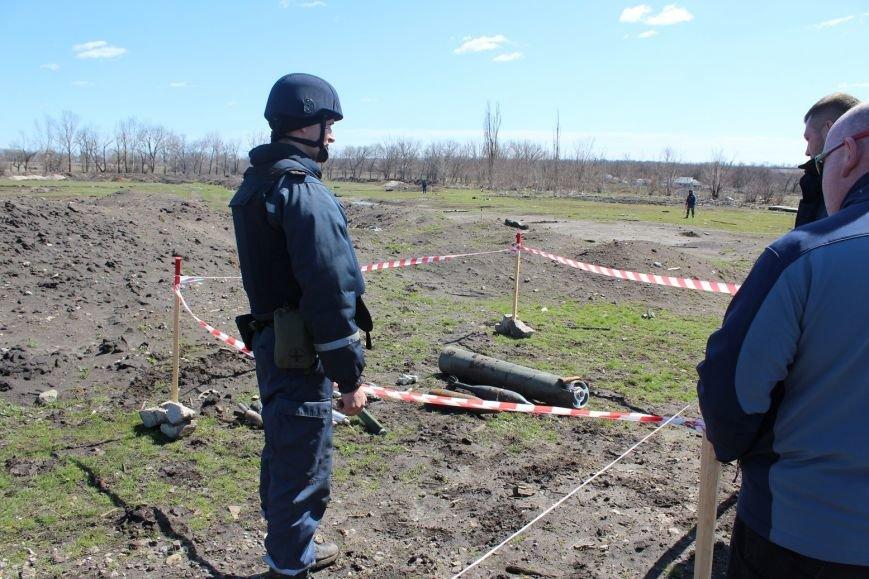 За прошлую неделю на Донбассе было выявлено 185 взрывоопасных предметов, больше всего в Славянском районе (фото) - фото 1