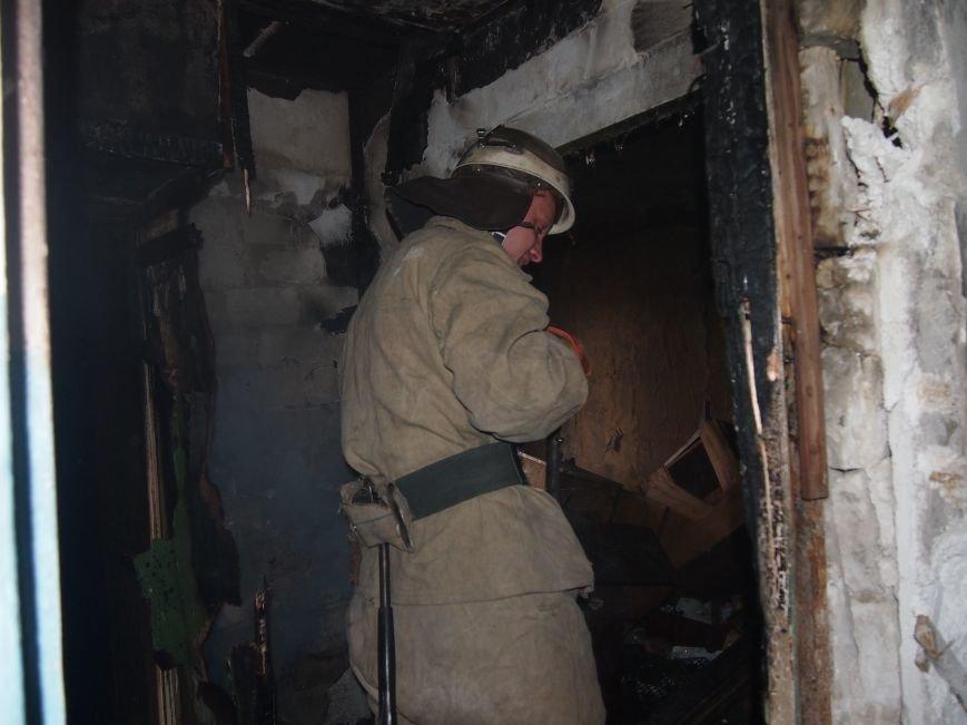 В Днепродзержинске горел девятиэтажный жилой дом (фото) - фото 5