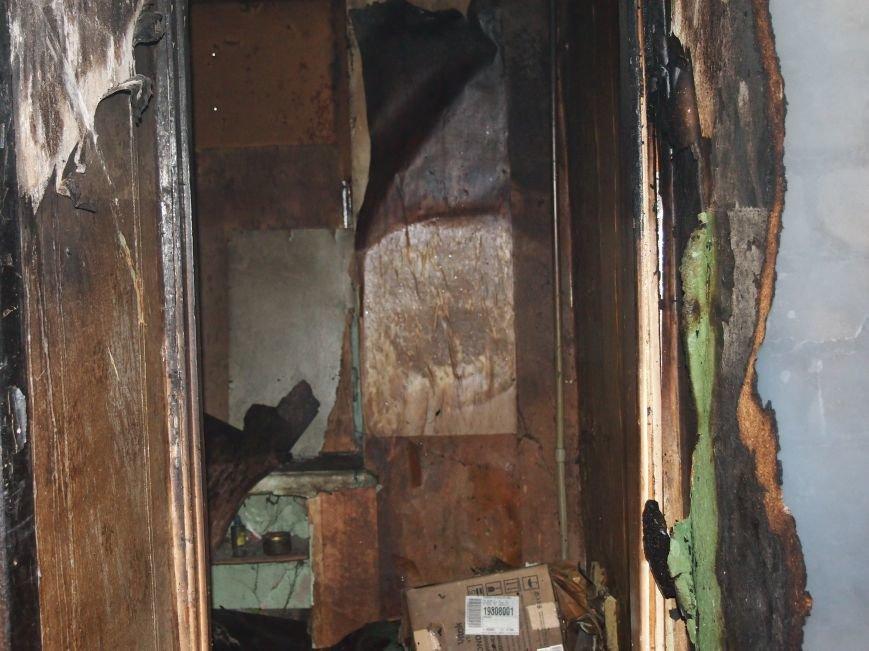 В Днепродзержинске горел девятиэтажный жилой дом (фото) - фото 3