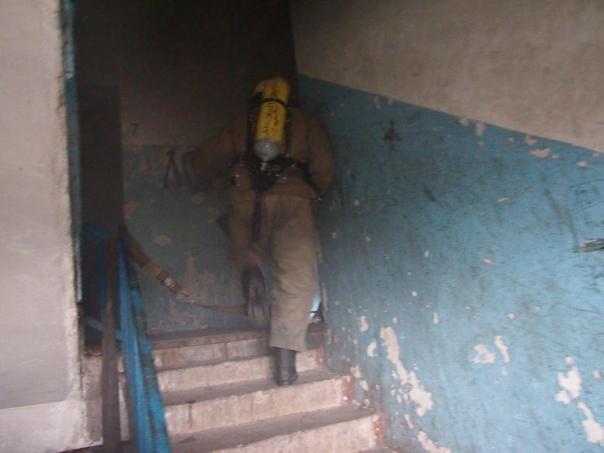 В Днепродзержинске горел девятиэтажный жилой дом (фото) - фото 2