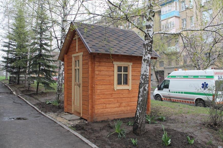 В Артемовске у военного медгоспиталя построили часовню, фото-1