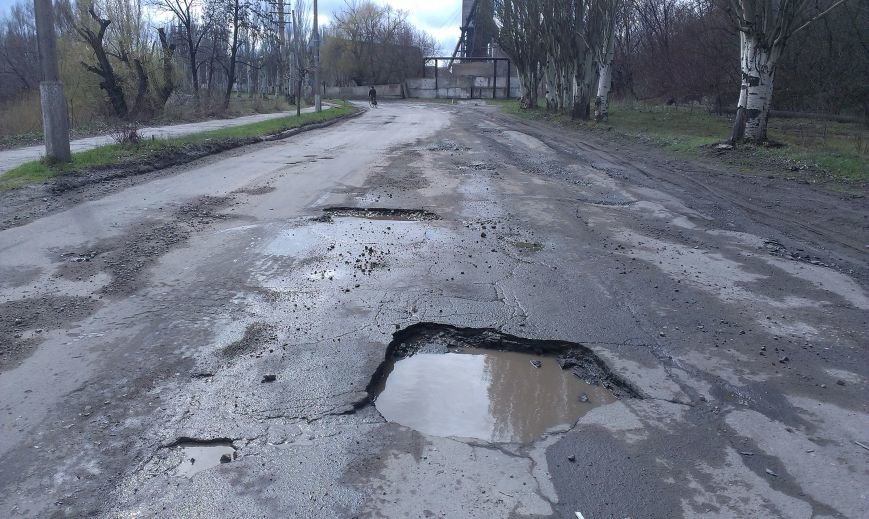 Дороги в Димитрове «убитые», но наказать за это – некого (фото) - фото 4