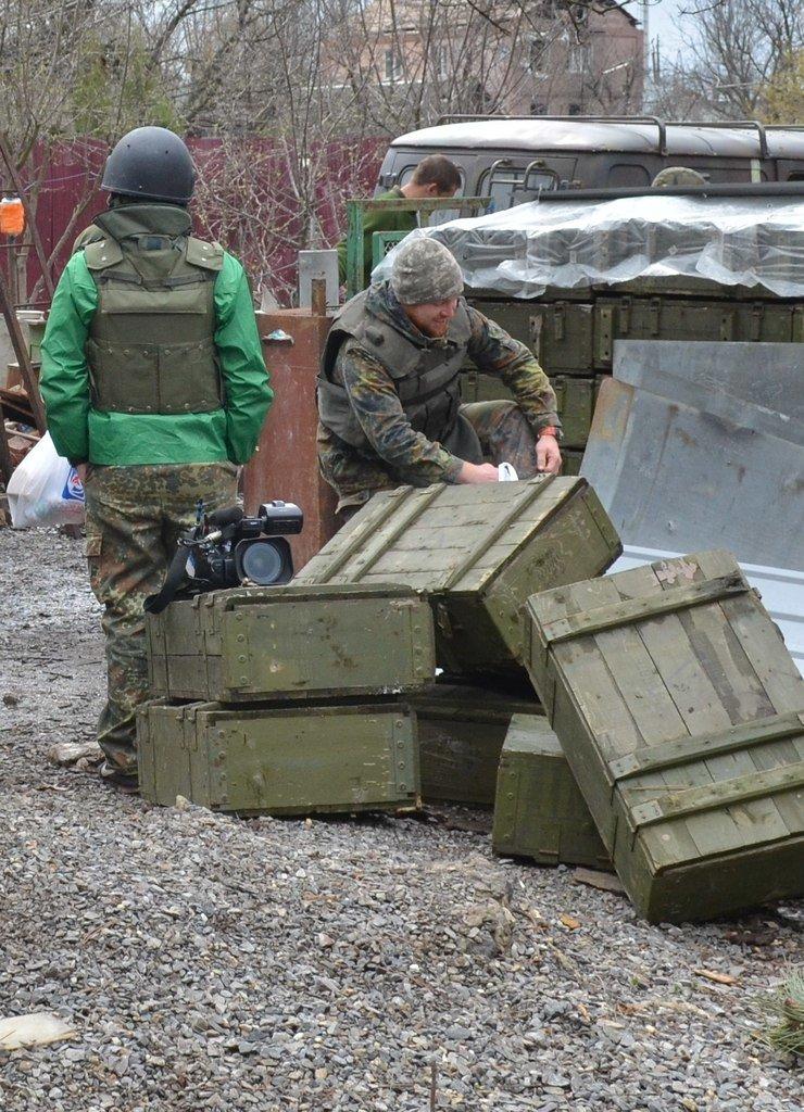 Патриоты Доброполья несут вахту на линии АТО совместно с одним из батальонов специального назначения, фото-4