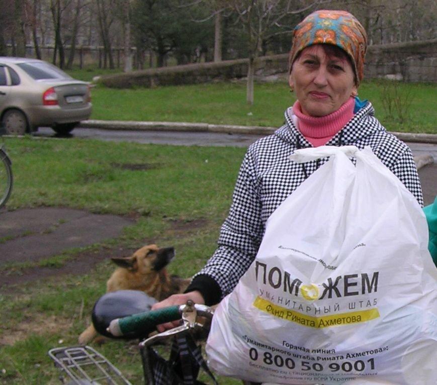 Людмила Чирина осталась в Авдеевке, чтобы заботится о маме и старшем брате