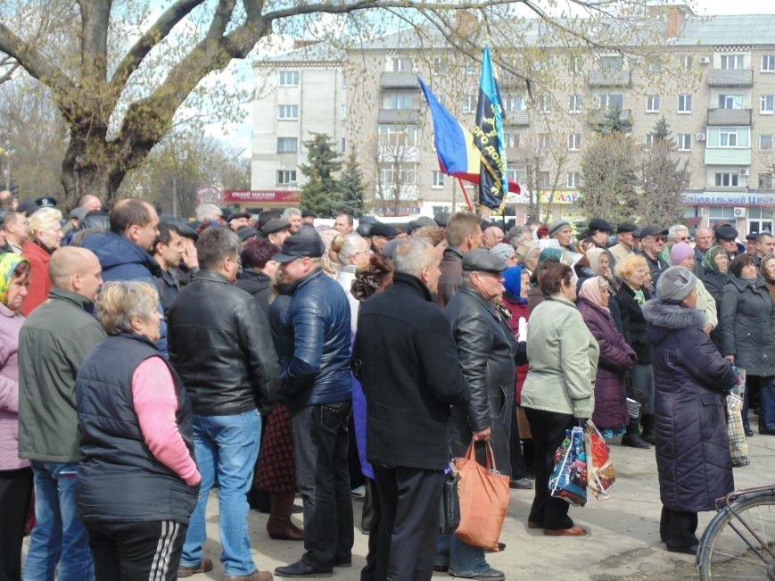 Павлоградцы протестовали против повышения коммунальных тарифов (фото) - фото 2