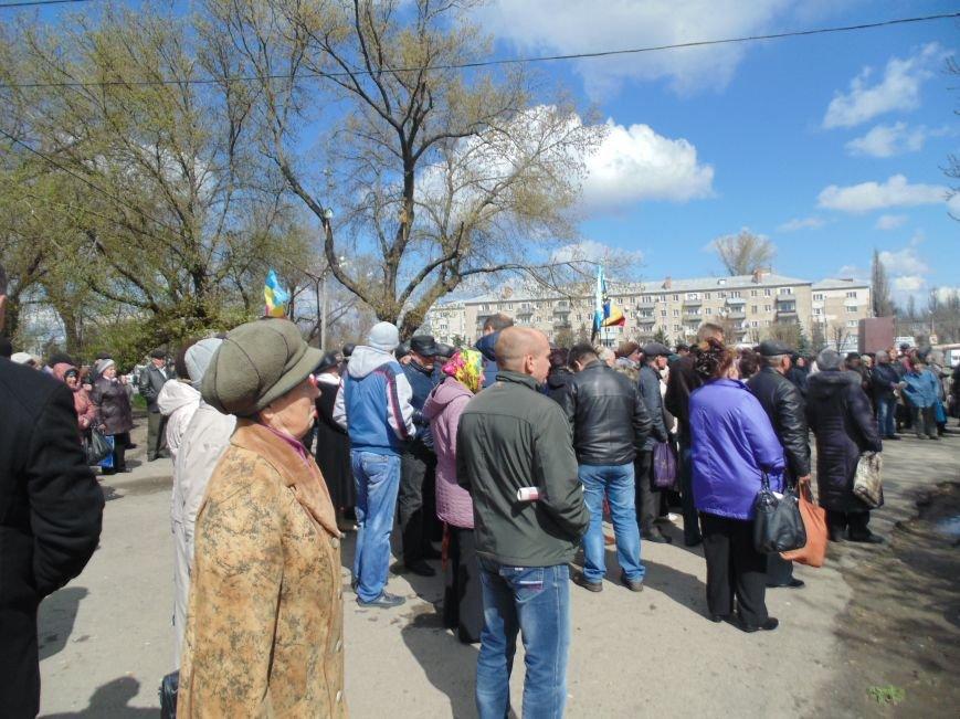 Павлоградцы протестовали против повышения коммунальных тарифов (фото) - фото 1