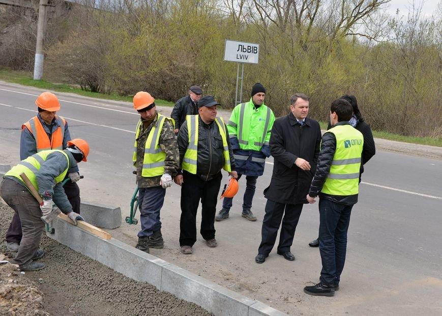 На дорозі зі Львова до Мукачева облаштують велосипедну доріжку (ФОТО), фото-3