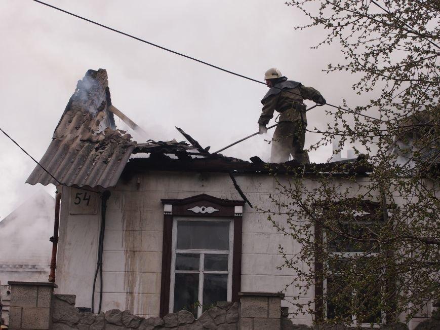 В Баглейском районе Днепродзержинска горел частный дом (фото) - фото 3