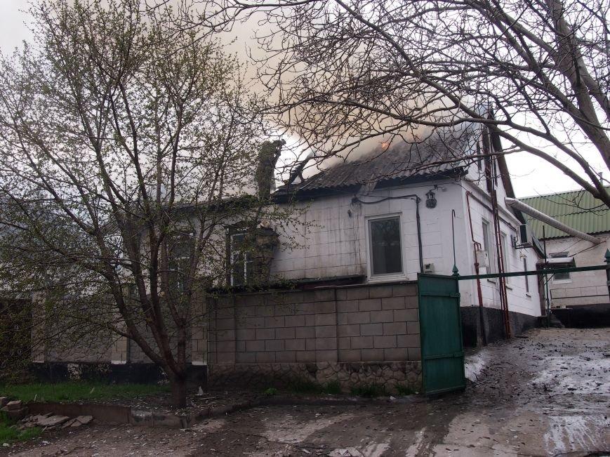 В Баглейском районе Днепродзержинска горел частный дом (фото) - фото 2