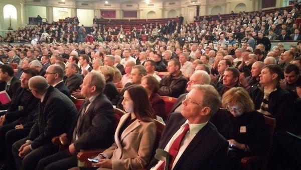 Шахтерский лидер об итогах первого дня Всеукраинского съезда горняков (фото) - фото 1