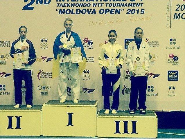 Днепродзержинские тхэквондисты завоевали 10 наград на международном турнире в Молдове (фото) - фото 6