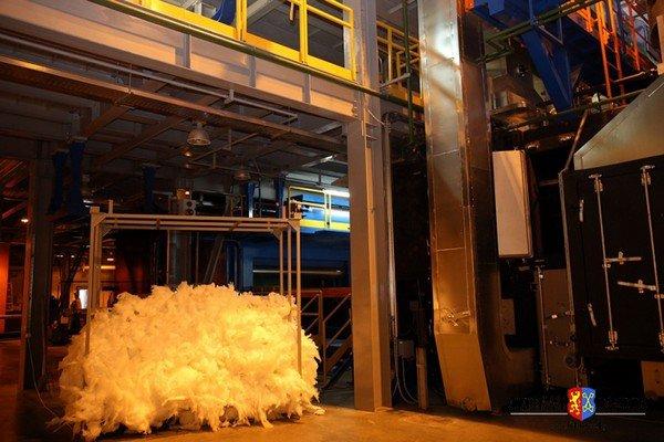 Стеклозавод «Неман» запустил уникальную линию по производству стекловаты (фото) - фото 4
