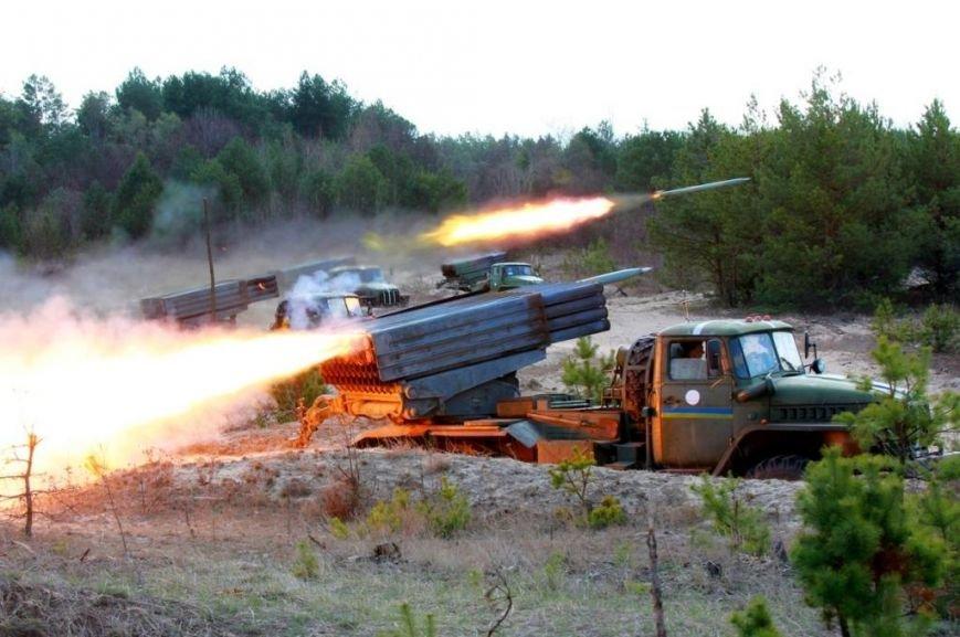 Артиллеристов для АТО готовят в Черниговской области (фото) - фото 1