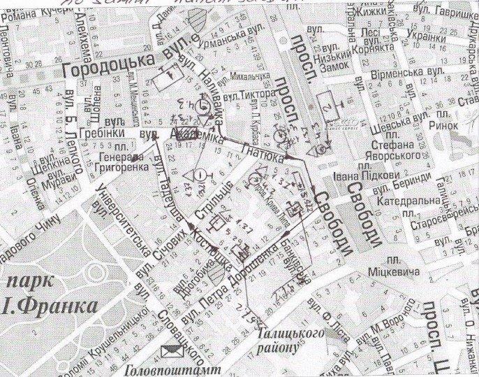 У Львові вулиця Гнанюка стане непроїзною (СХЕМА) (фото) - фото 1