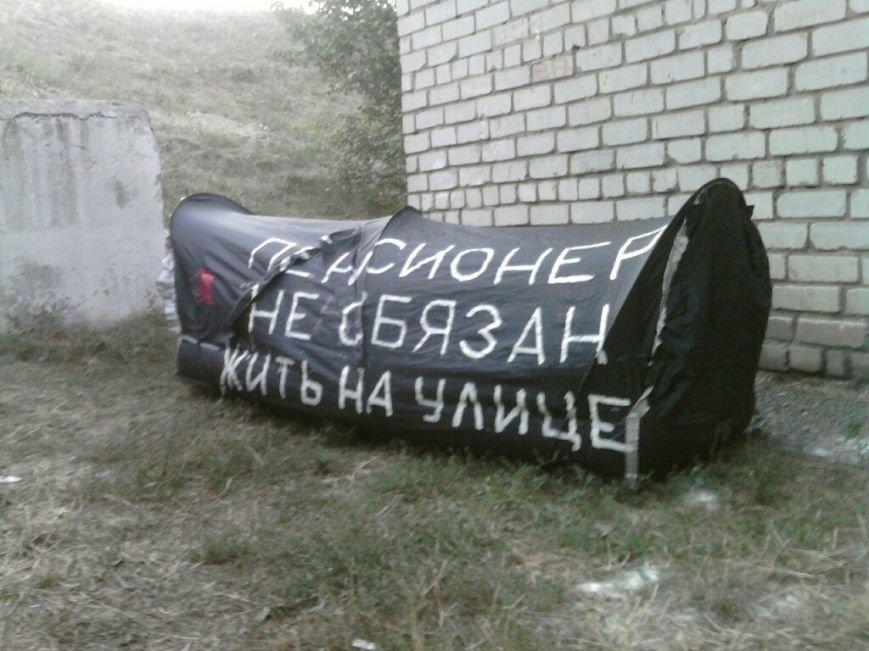 Запорожский бездомный запатентовал палатку собственного изобретения (ФОТОФАКТ) (фото) - фото 3