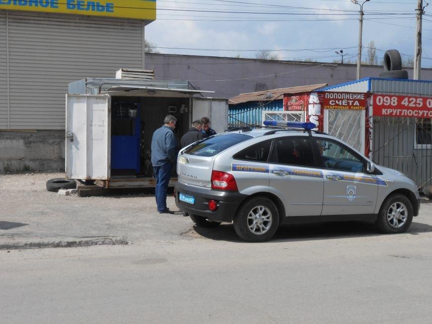 Конфликт на АЗС в Днепродзержинске (фото) - фото 1