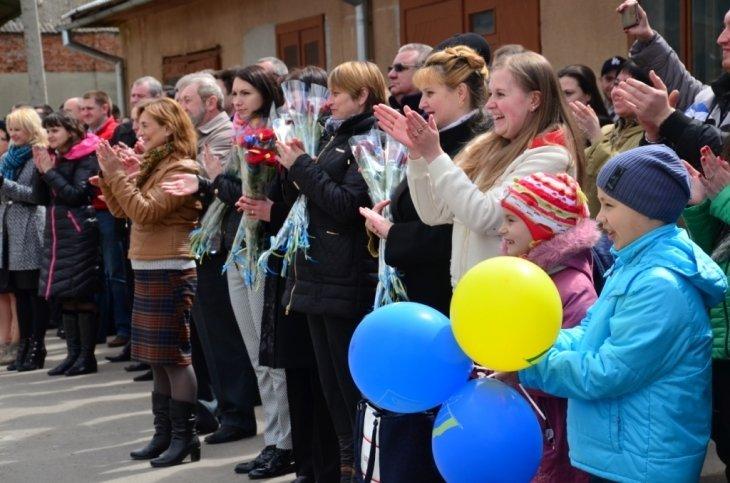 Працівники СБУ повернулись до Івано-Франківська із зони бойових дій, фото-1