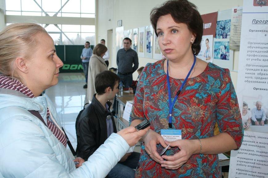22 апреля в Троицке прошла очередная ярмарка вакансий, где соискатели смогли познакомиться с предложениями местных работодателей (ФОТО), фото-2