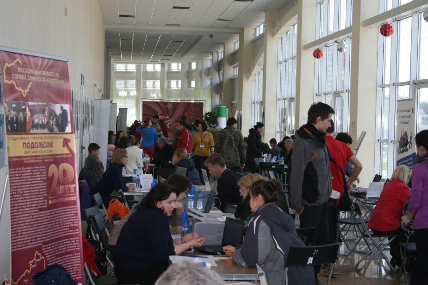 22 апреля в Троицке прошла очередная ярмарка вакансий, где соискатели смогли познакомиться с предложениями местных работодателей (ФОТО), фото-5