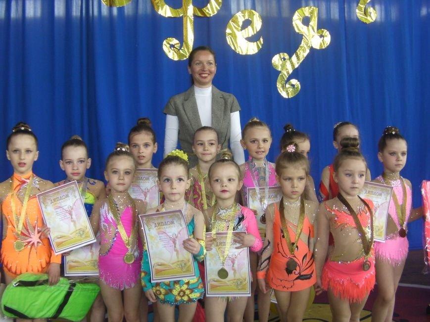 Бердянские гимнастки приняли участие в турнире «Золотая фея» (фото) - фото 2