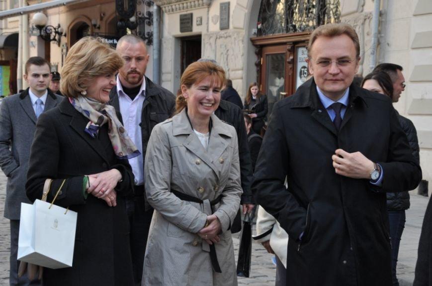 Перша леді Львова провела екскурсію для дружини Президента Угорщини (ФОТОРЕПОРТАЖ, ВІДЕО), фото-9