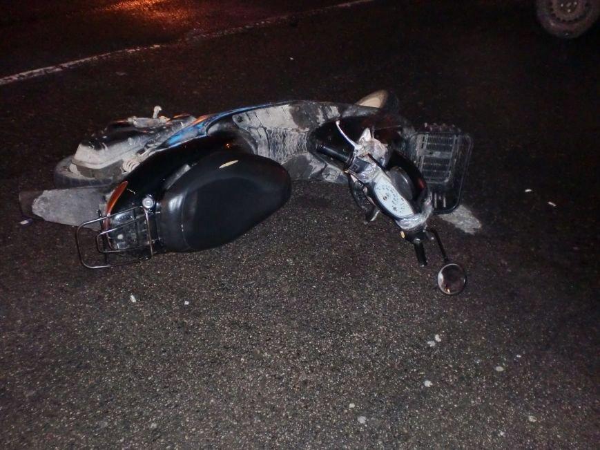 В Днепропетровске водитель мопеда сбил пешехода, - пострадали оба (ФОТО) (фото) - фото 2
