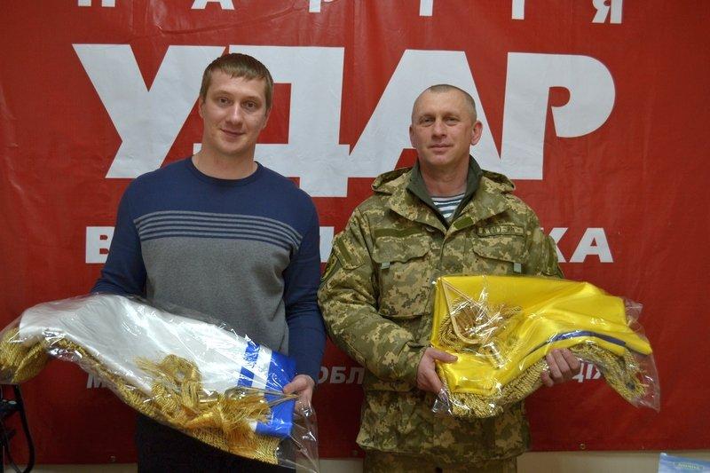 Волонтеры снабдили спецназовцев Очакова биноклями и дальномерами (ФОТО) (фото) - фото 1