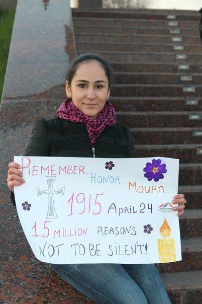 В Днепродзержинске почтили память жертв геноцида армян (фото) - фото 3