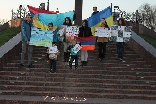 В Днепродзержинске почтили память жертв геноцида армян (фото) - фото 9