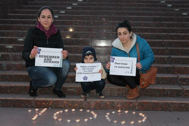 В Днепродзержинске почтили память жертв геноцида армян (фото) - фото 6