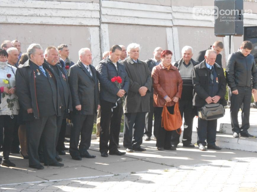 Днепродзержинцы отдали дань памяти жертвам Чернобыльской катастрофы (фото) - фото 9
