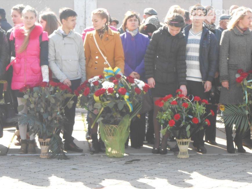 Днепродзержинцы отдали дань памяти жертвам Чернобыльской катастрофы (фото) - фото 7
