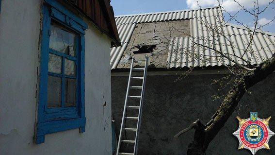 В результате сегодняшнего обстрела Авдеевки обнаружено 26 снарядов, - милиция (ФОТО) (фото) - фото 1