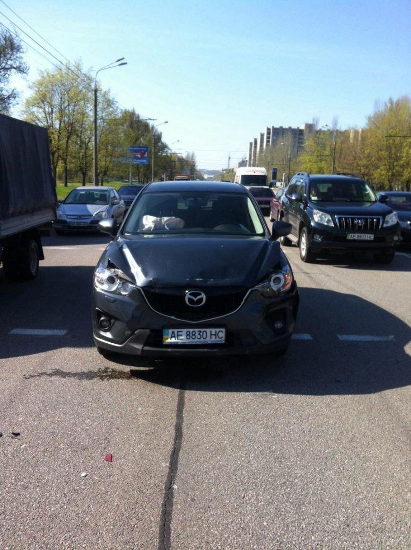 ДТП в Днепропетровске: за рулем женщина (фото) - фото 1