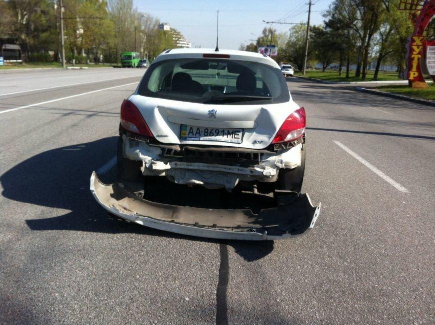 ДТП в Днепропетровске: за рулем женщина (фото) - фото 2