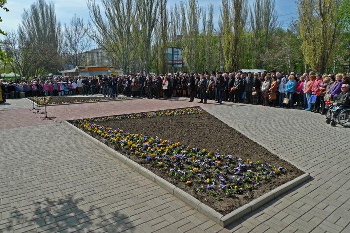 «Скорбящий Ангел Чернобыля» в Николаеве собрал горожан на митинг-реквием (ФОТОРЕПОРТАЖ) (фото) - фото 3