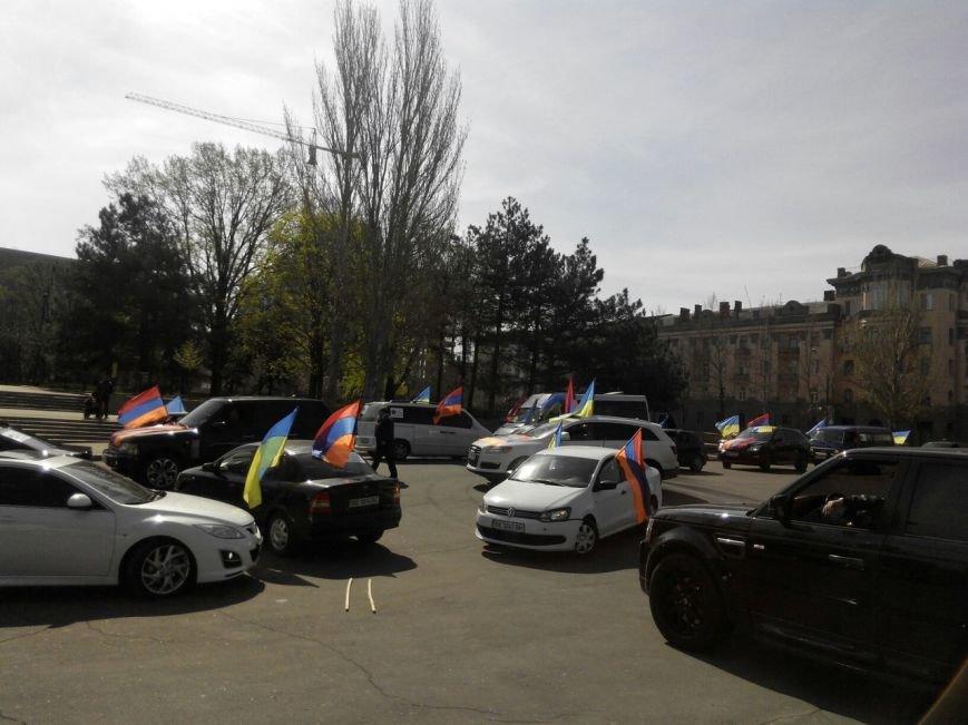 Николаевцы отметили 100-летнюю годовщину геноцида армян масштабным автопробегом (ФОТО) (фото) - фото 6