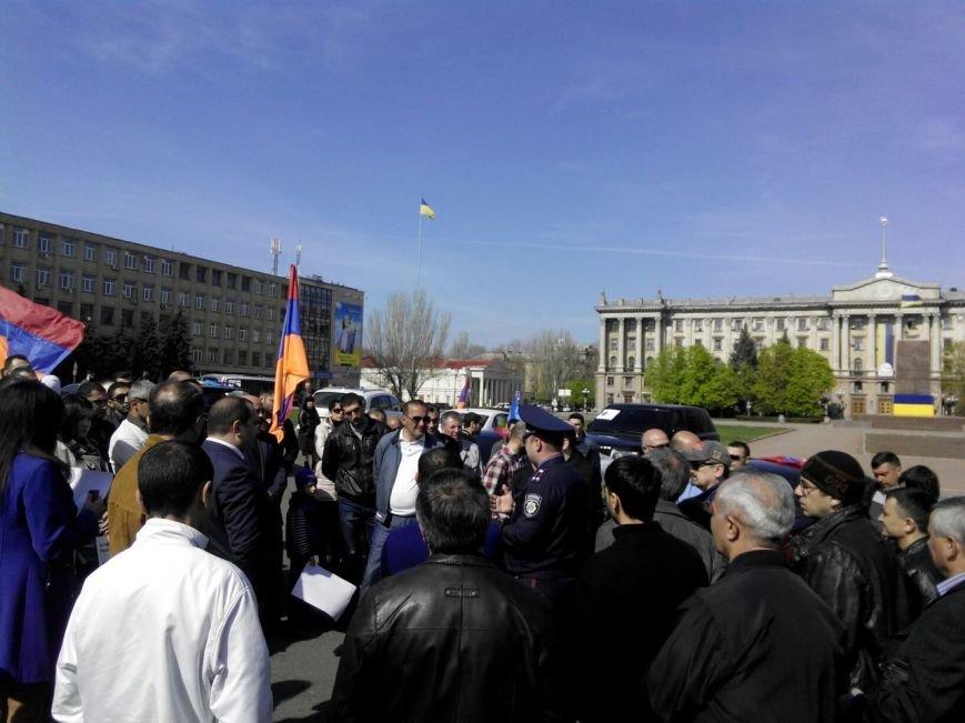 Николаевцы отметили 100-летнюю годовщину геноцида армян масштабным автопробегом (ФОТО) (фото) - фото 1