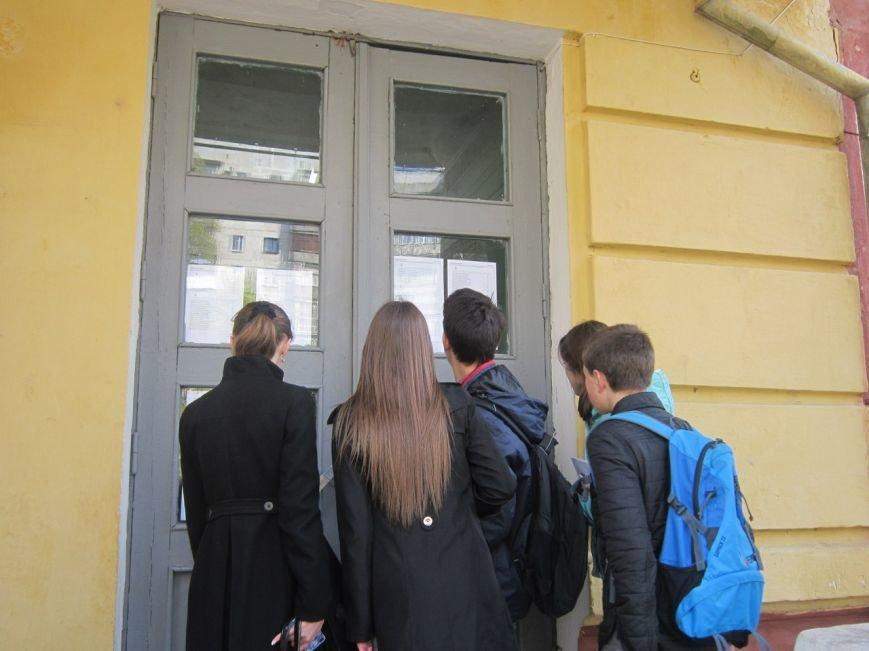Сегодня славянские выпускники пишут внешнее независимое оценивание по украинскому языку и литературе (фото) - фото 1
