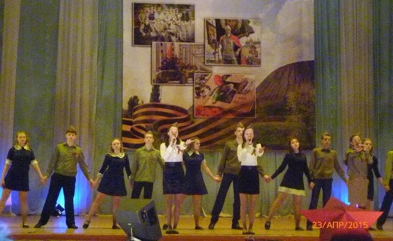 В Енакиево состоялся Фестиваль инсценированной военно-патриотической песни, фото-1
