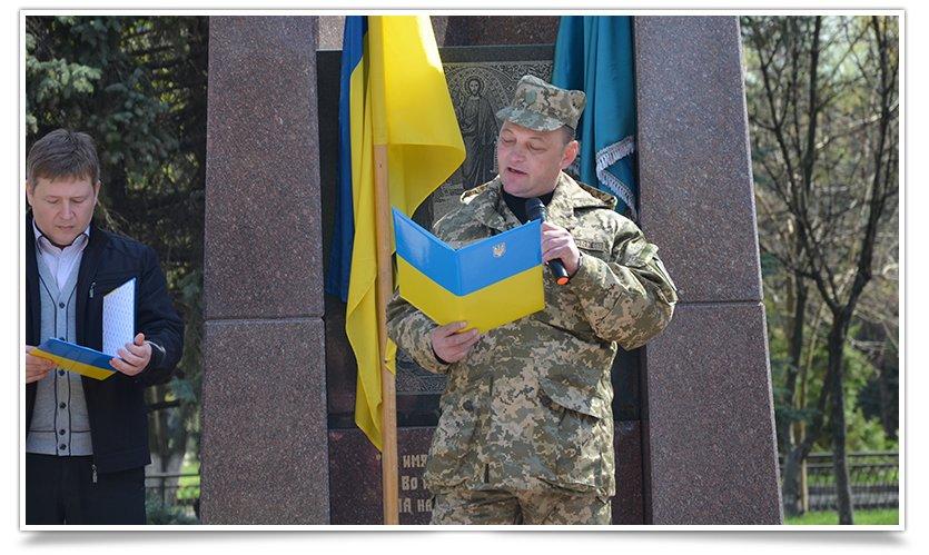 В Славянске прошёл митинг-реквием, посвящённый 29й годовщине аварии на ЧАЭС (фото) - фото 2
