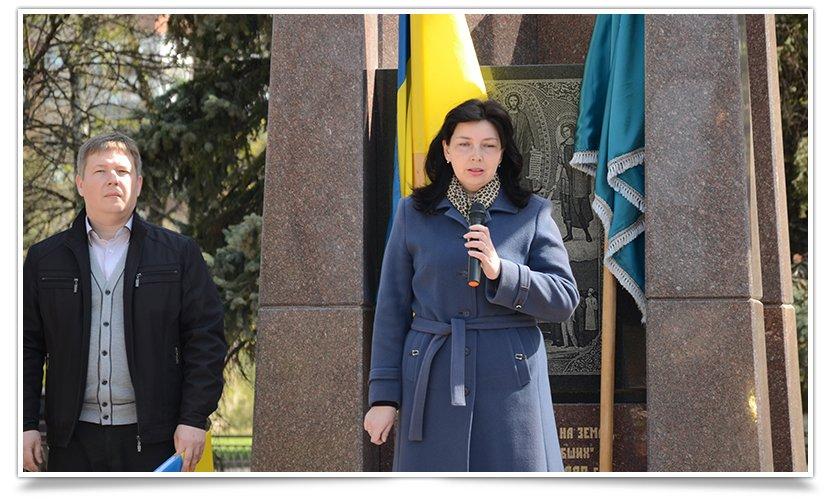 В Славянске прошёл митинг-реквием, посвящённый 29й годовщине аварии на ЧАЭС (фото) - фото 3