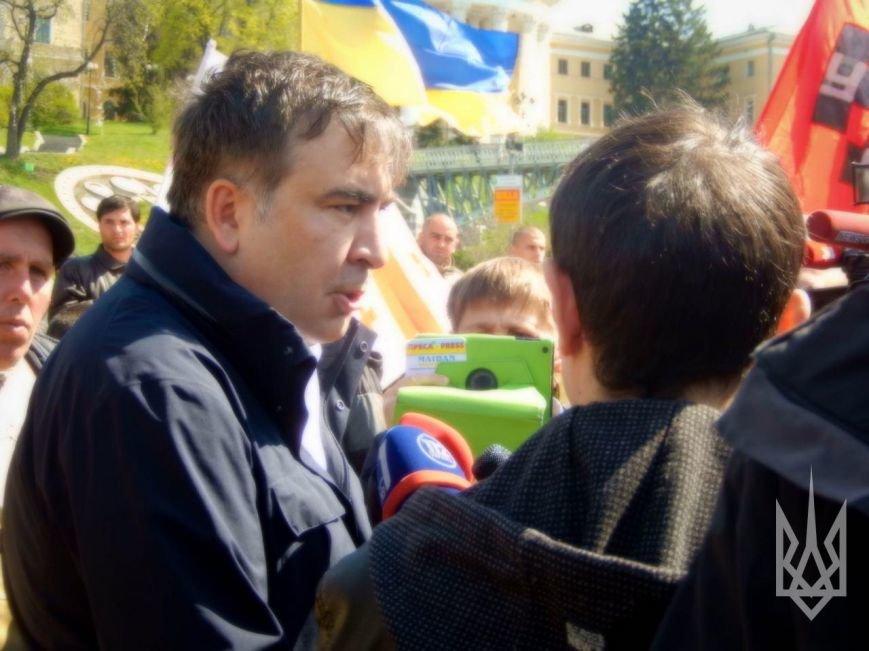В Киеве простились с погибшим под Мариуполем грузинским добровольцем (ФОТО+ВИДЕО) (фото) - фото 2