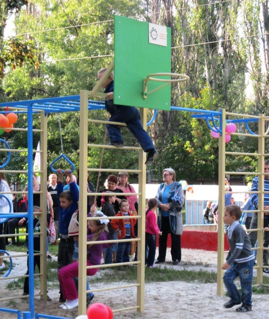 ОСМД Лидер. Детская площадка, установленная в рамках конкурса (1)