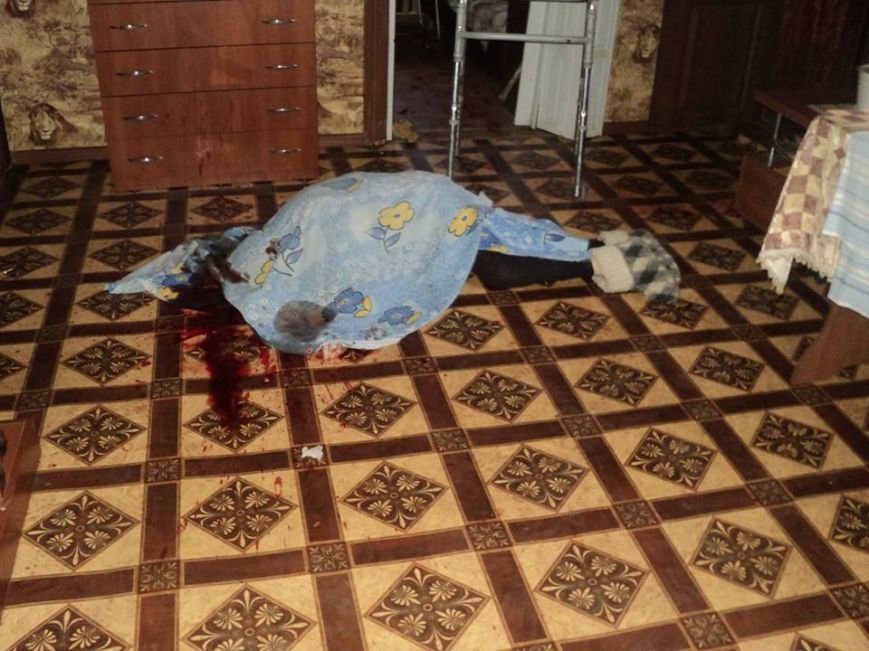Краматорский пенсионер убил жену топором, фото-1