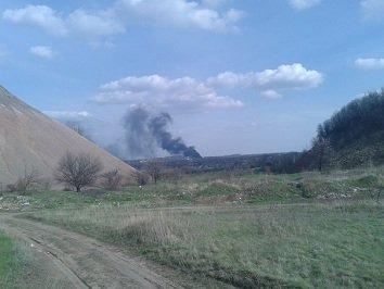 Пожар в соцсетях: в районе ЖБИ горит мусор (фото) - фото 1