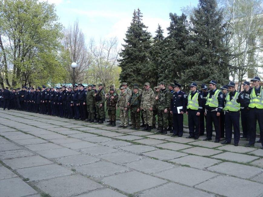 Краматорская милиция прошла инструктаж на площади, фото-1